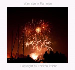 Wannsee in Flammen von Carsten Iltsche